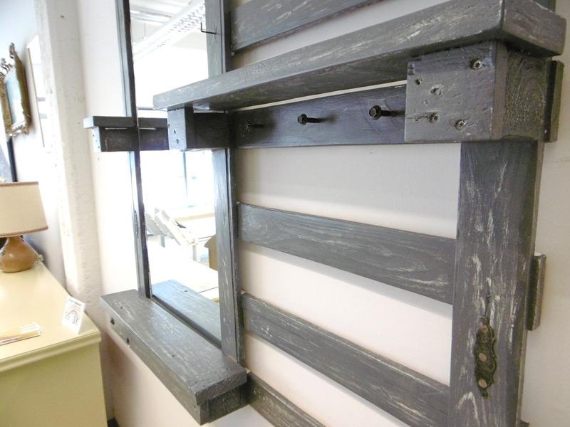 garderobe mit spiegel. Black Bedroom Furniture Sets. Home Design Ideas